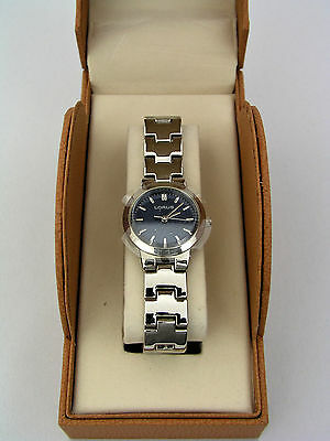 Lorus Ladies Watch - Msa004 - Stainless Steel Silver Tone - Japan - New In Box