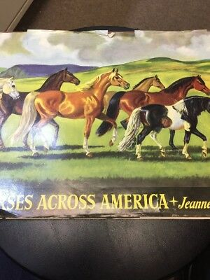 Jeanne Mellin Horses Across America Vintage Book 1953 First Edition