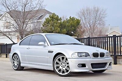 2001 BMW M3 Base Coupe 2-Door 2001 BMW M3 6MT TiAg/Blk Premium Cold Xenon H/K 19's Shade Manual Seats Serviced