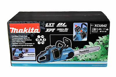 Makita XCU04Z 18V X2 (36V) LXT Lithium-Ion Brushless Cordless 16 in. Chain Saw,