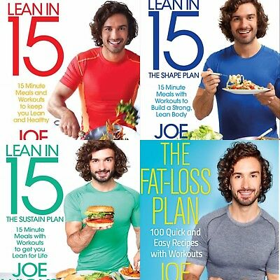 Joe Wicks Lean In 15- All Four Books Red, Blue,Green & Fat loss PDF emailed
