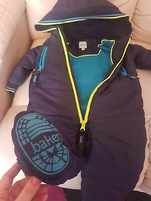 Baby boy snowsuit, VGC, 6-9 month, Ted Baker