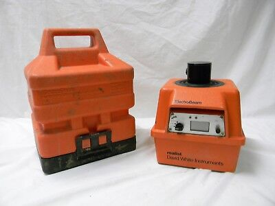 David White ElectroBeam AEL-600 Automatic Electronic Laser System With Case.