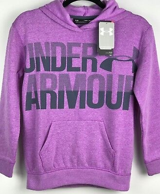 Under Armour  Girls Cold Gear  Storm Hoodie Pink/Purple & Gray Size S M L  A2