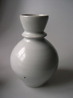 ANDREW CROUCH Studio Pottery Porcelain Vase - 16.5cm high