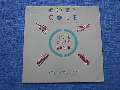 Vinyl COZY COLE His Drums and Orchestra IT'S A COZY WORLD / MCA 252 319-1