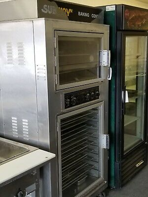 Combo Convection Oven & Proofer Humidity Control Dough Bread Bakery Subway NuVu