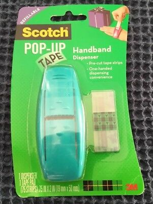 Scotch Pop Up Tape; Handheld Dispenser ***BRAND NEW ++++ FREE P&P***