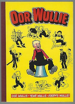 Oor Wullie 1986 D C Thomson & Co Ltd Unclipped Uniscribed Good- Condition