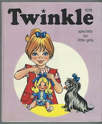 Twinkle Annual 1974 D C Thomson & Co Ltd Unclipped Uninscribed Good Condition
