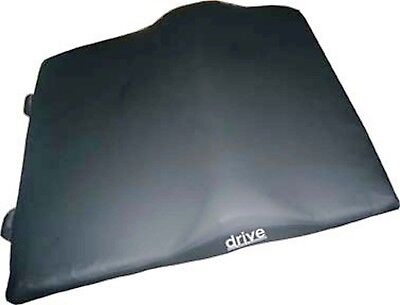 Drive General use wheelchair back cushion with lumbar support 14889 18x17x2.5