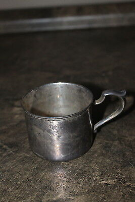 S. Kirk & Son Sterling Silver Baby Cup Mug with Monogram of  baby name