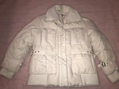 Off White Kids Real Down Jacket Size 8 Warm Snow Ski Coat