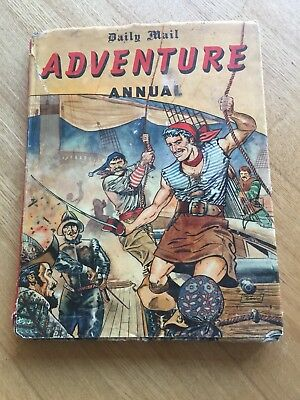 Vintage Daily Mail Adventure Annual