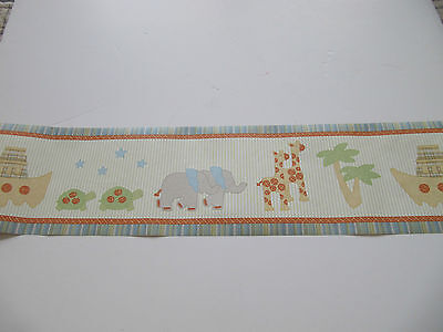 CoCaLO WALL BORDER TWO OF A KIND **  2 ROLLS**  30 FEET   ARK, PALMS, ANIMALS