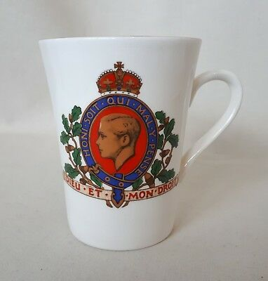 Ashley Edward VIII Commemorative Mug. Original, Authenticated, REAL Ashleyware.