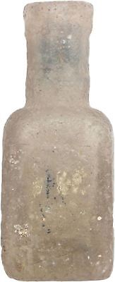 Ancient Egyptian Glass Scent Bottle 500-400 Bc.