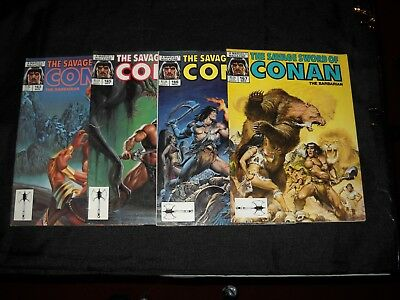Lot Of 45 The Savage Sword Of Conan The Barbarian Magazines Marvel