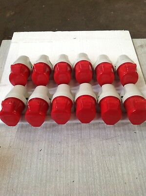 BS4343 Red Surface Socket  32a 3P+N+E  415v - Pack Of 12