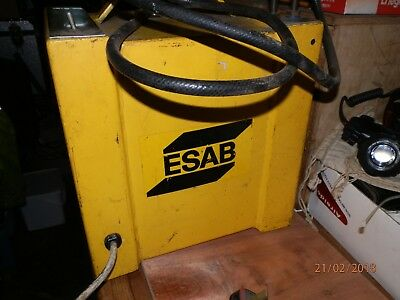 ESAB Water Cooler For Mig Welder With Water Cooled Torch.