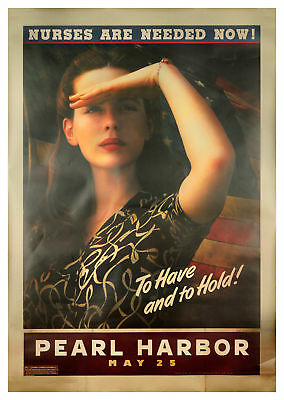 Pearl Harbor 2001 48x70 Orig Movie Poster FFF-67807 Rolled Very Fine