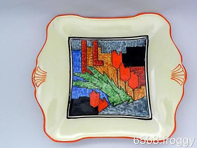 ART DECO *Grimwades ROYAL WINTON* Abstract PLATE  1280/2 - STUNNING - VGC