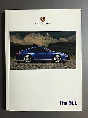 """2007 Porsche 911 """"The 911"""" Showroom Sales Brochure English RARE!! Awesome L@@K"""