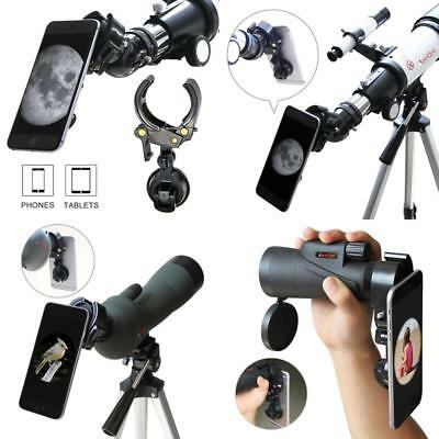 Smartphone Tablet Telescope Adapter Mount for Rifle Scope Binocular Monocular
