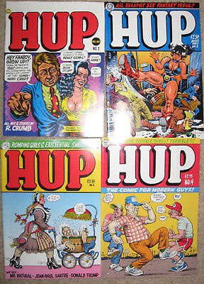 Collection of Hup Comics - R. Crumb