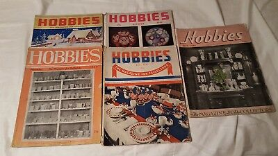 10 each 1930s & 1940s Hobbies - The Magazine for the Collectors
