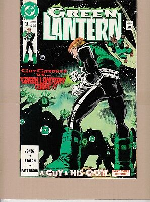 Green Lantern #11 1991 Dc-Guy Gardner-Vs-Green Lantern Corp-Stanton/joines...fn+