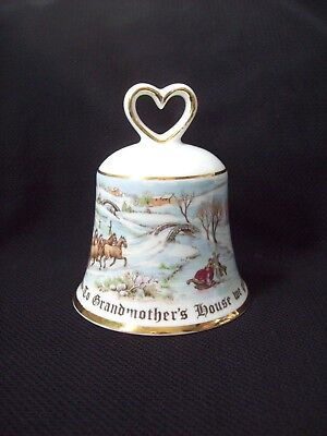 Christmas Bell Royal Doulton J. C. Penney Company To Grandmother's House We Go