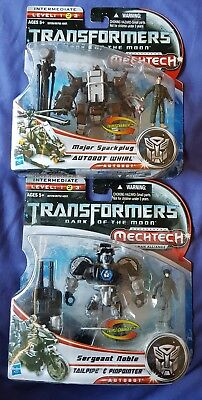Transformers Dark Of The Moon dotm Human Alliance 2 Pack