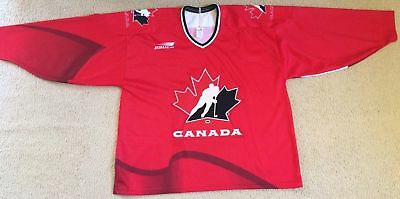 Authentic BAUER Canada National Ice Hockey Team Jersey - Mens Size XXL - VGC