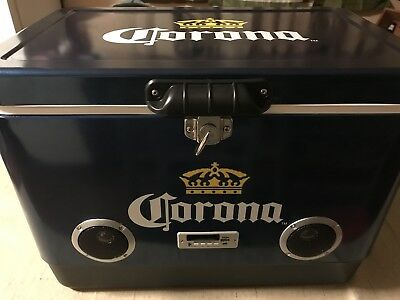 corona cooler stainless Bluetooth