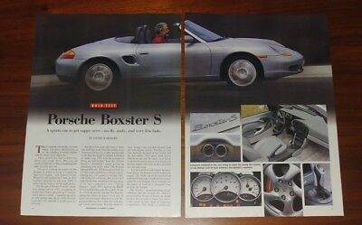 Porsche Boxster 986 Magazine Articles Ads Clippings Collectible Lot 2001 2004