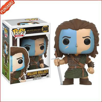 William Wallace Action Figure Braveheart Funko POP Movies Doll Collection NEW