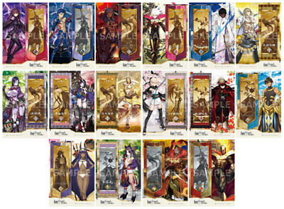 Fate Grand Order Official Plastic Bookmark