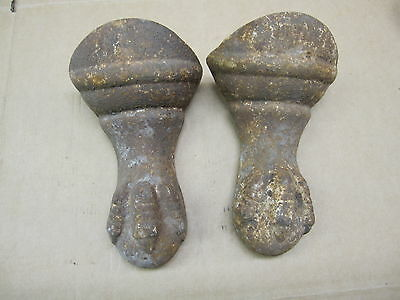 Antique Victorian Ball Eagle Claw Foot Bathtub Tub Feet Cast Iron Vintage Tub