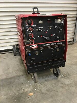 Used Lincoln Tig 275 Tig Welder Ideal For Farm/ranch, Business, Hobbies, Hot Rod