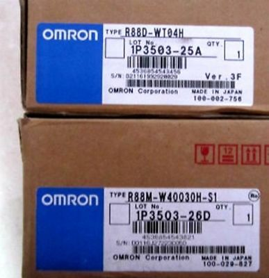 Omron Driver R88D-WT04H New by DHL or EMS
