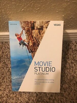 MAGIX Vegas Movie Studio Platinum 14 - Free Shipping