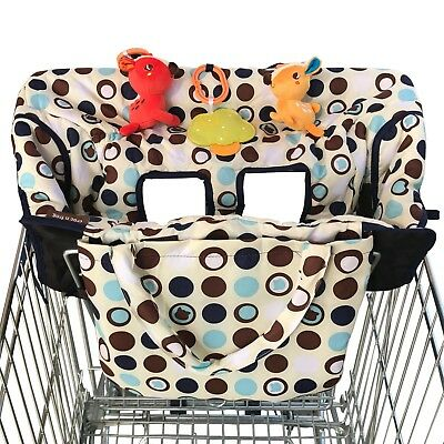 Crocnfrog 2in1 Shopping Cart Cover High Chair Cover for Baby Medium FREE2DAYSHIP