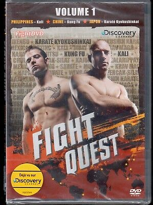 DVD Fight Quest vol 1 (Neuf sous blister) - refA | Sport | Lemaus