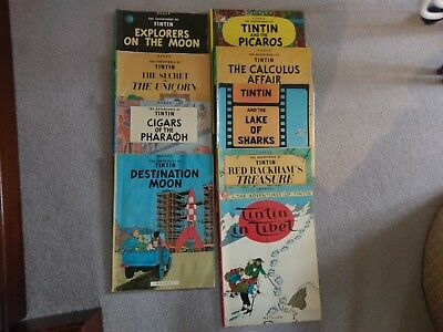 Tintin and Asterix books