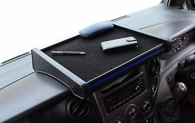 Velour Schwarz with Cup Holder Blue Table Mercedes Sprinter W906 from 2006