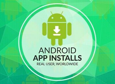 1000 Real Guaranteed Worldwide Android mobile app installs