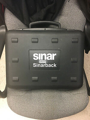 Sinarback 54H Digital Back with Sinar Plate Adapter 551.65.233 w/Case and more