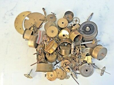 French Clock Movement Parts