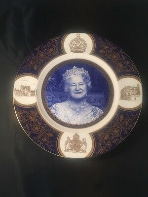 Her Majesty Queen Mother 90th Birthday Plate Coalport No 142 Of 5000 Royal